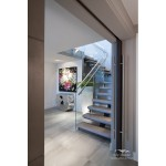 award winning stairwell renovations, award winning stairwell upgrades, renovation west vancouver