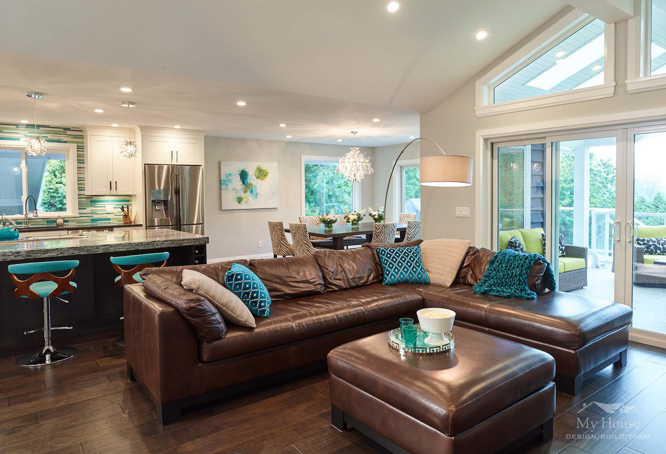 Open Concept Great Room, Surrey Renovation